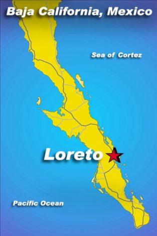 Loreto, Baja California Peninsula, in the state of Baja California Sur, Mexico